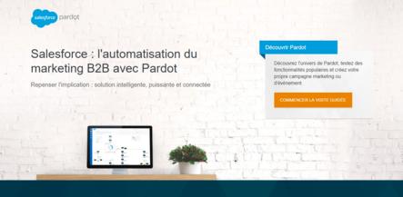 Outil de marketing automation - pardot