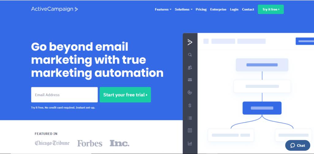 Outil de marketing automation - active campaign