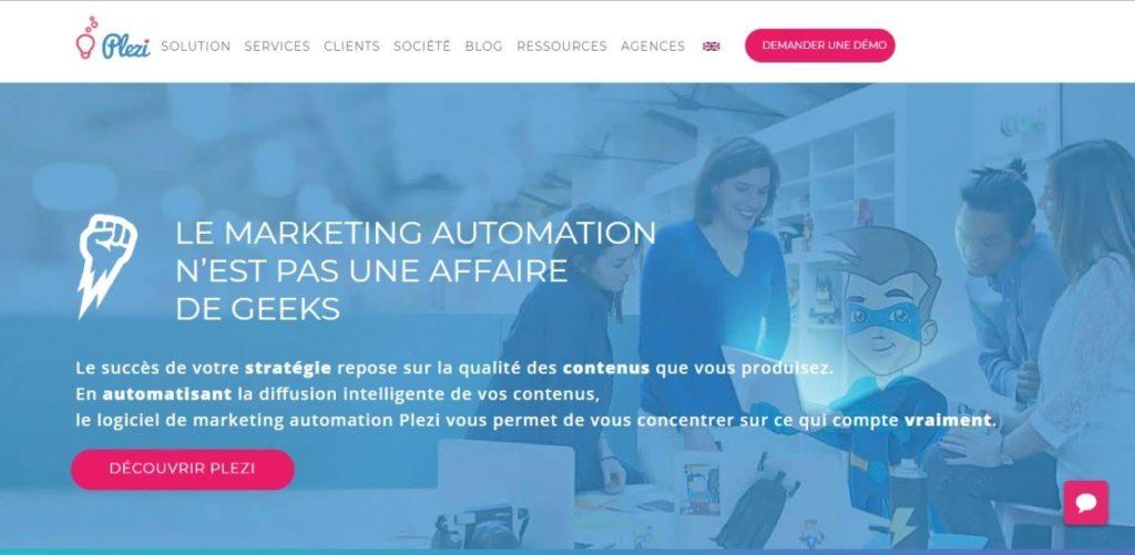 Marketing automation - Plezi