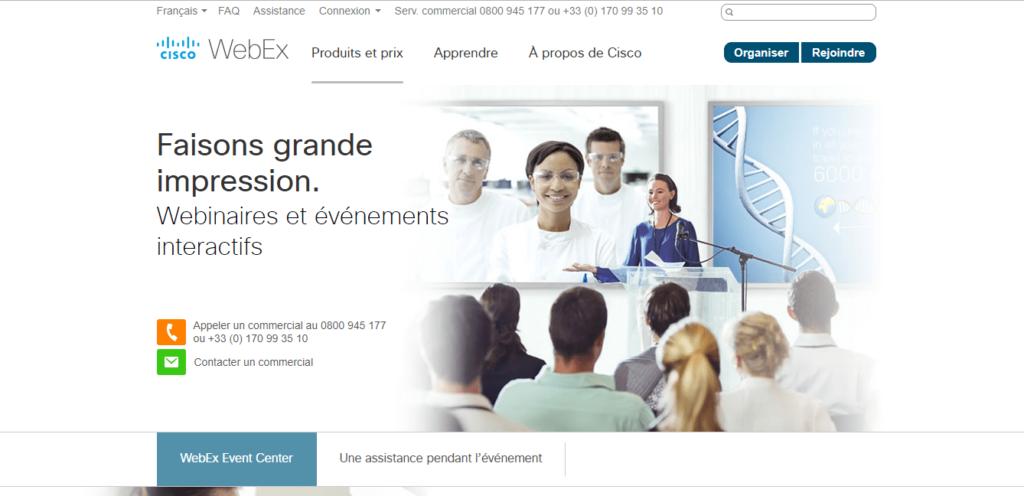 Cisco Webex Webinar