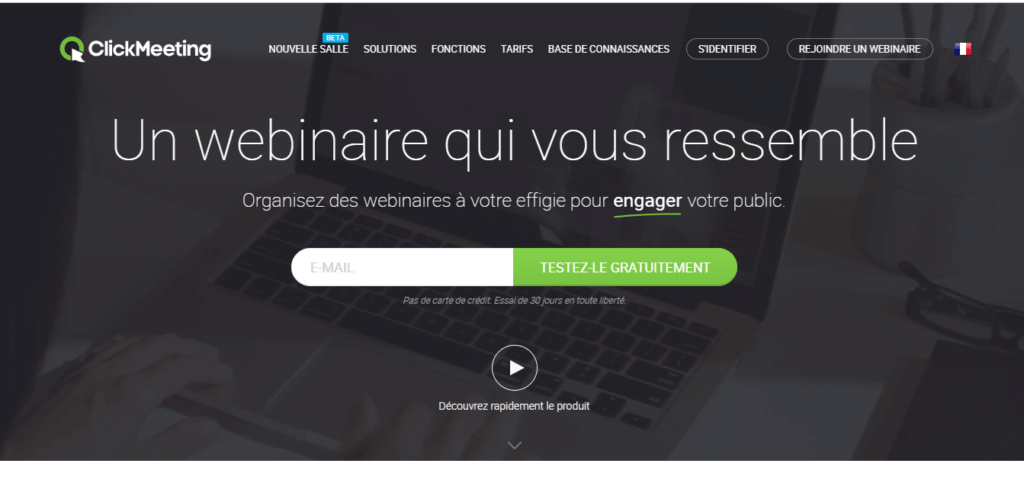 ClickMeeting webinar