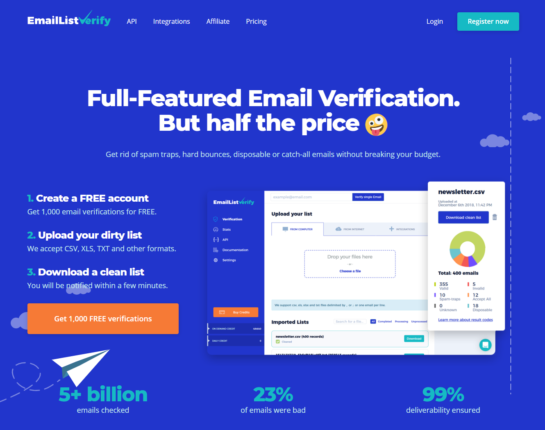 Email Verification & Validation Service capture