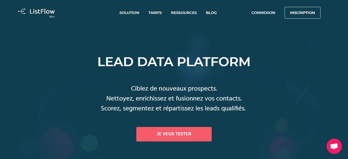 ListFlow - Automatisez la qualification de vos leads - capture d'écran
