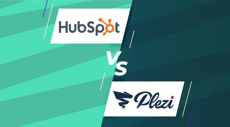 Comparatif Plezi Hubspot